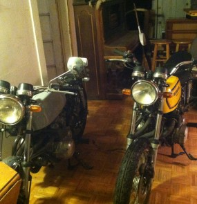 Bikes in the house