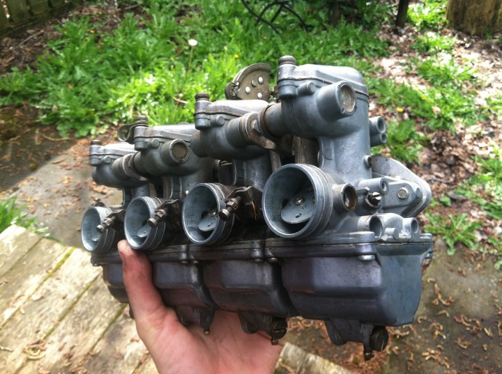 That's a four carb